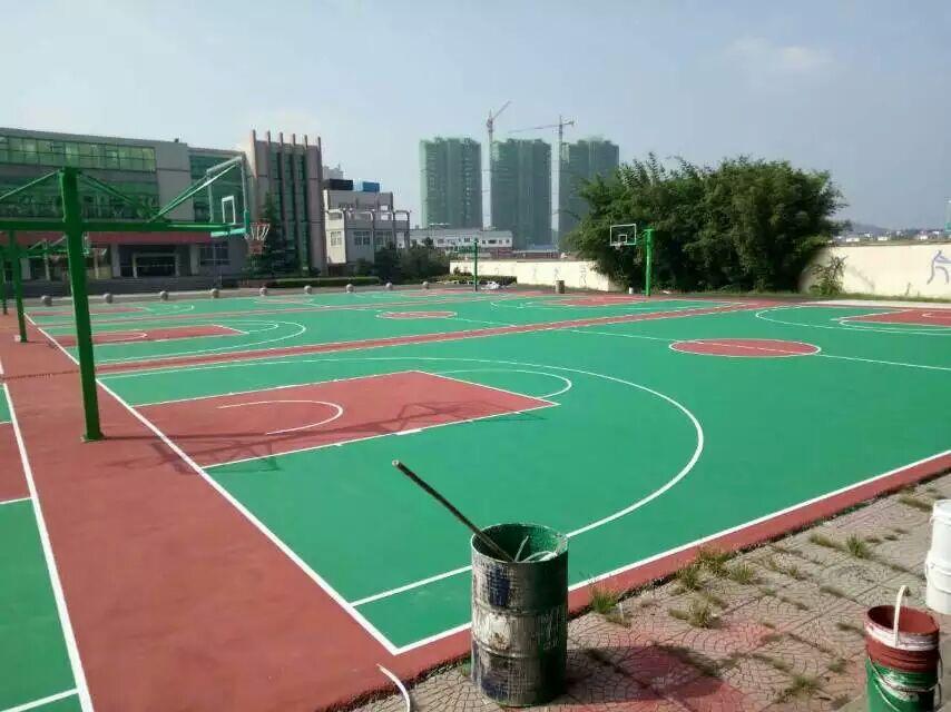 塑胶跑道厂家,广西柳州柳钢集团室内丙烯酸